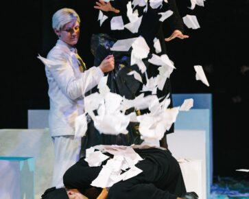 Спектакль «Сон об осени» Ю.Фоссе